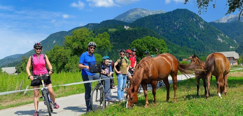 Vacances d'été à Radovljica, Slovénie