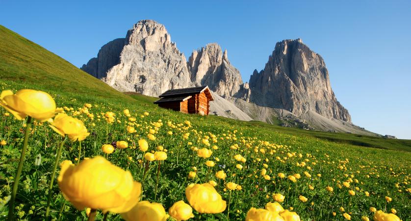 Vacances d'été à Canazei, Italie