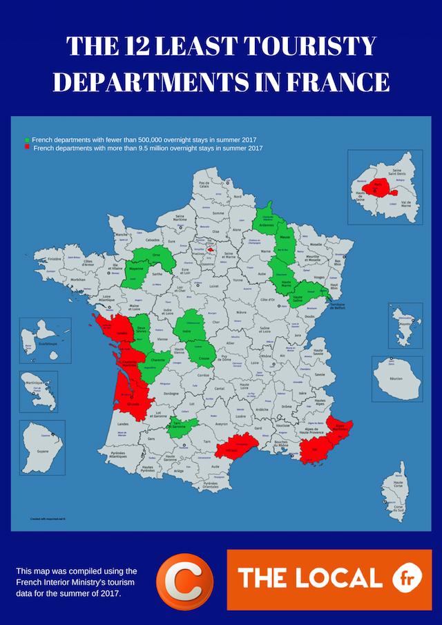 regions touristiques